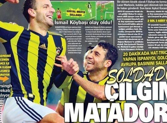 Günün Fenerbahçe Manşetleri (21 Kasım)